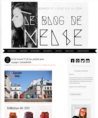Le blog de Mélie